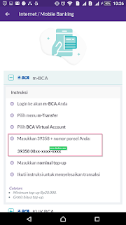Cara Gampang Top Up Saldo OVO Dengan Virtual Account BCA
