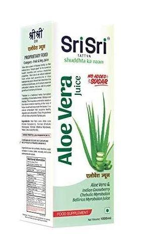 Sri Sri Tattva Aloe Vera Juice,1000ml (Pack of 2)