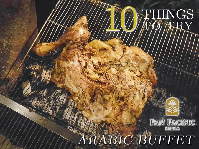 10 Things to Try at Pan Pacific Mania's Arabic Buffet