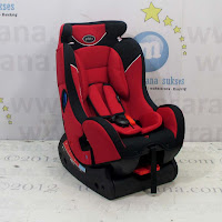 All-in-One Car Seat Pliko PK728 with Extra Head Rest Group 0+, 1 dan 2 (0 - 25kg)