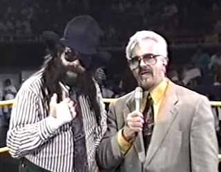 Smoky Mountain Wrestling - Fire on the Mountain 1993 Review - Les Thatcher and Dutch Mantel called the event