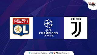 بث مباشر مباراة يوفنتوس ضد ليون مباشرة في دوري أبطال أوروبا