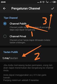 Cara membuat Channel telegram 1