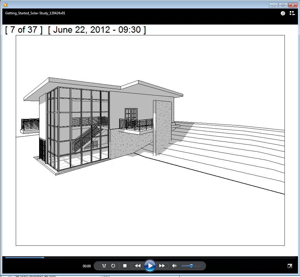 Revit Architecture Training Notes: Revit Getting Started Guide: Creating a  Solar Study