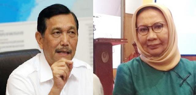 Trending Youtube, Menteri Luhut Bentak Ratna Sarumpaet: Saya Tak Bicara dengan Anda!