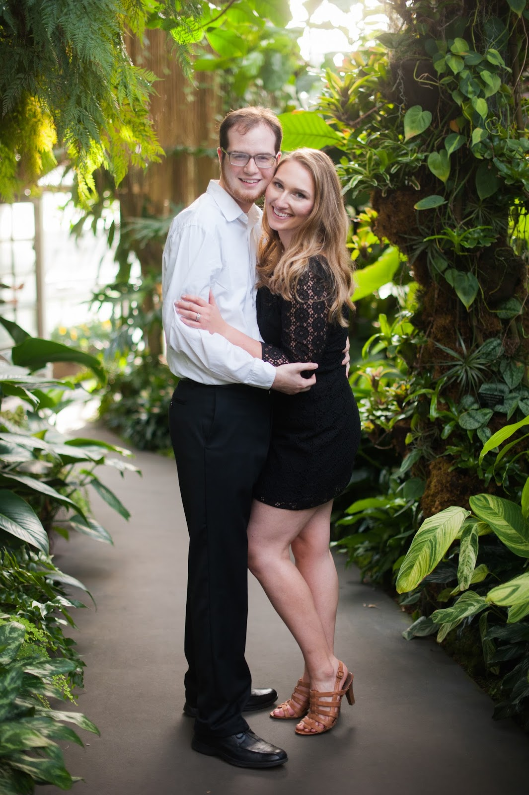 Engagement Photos Longwood Gardens