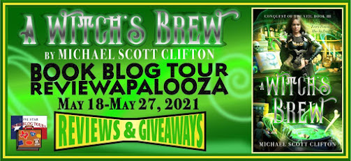 A Witch's Brew book blog tour promotion banner