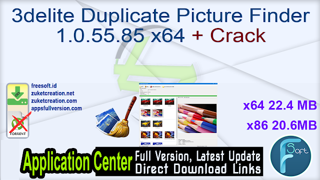 3delite Duplicate Picture Finder 1.0.55.85 x64 x86 + Crack