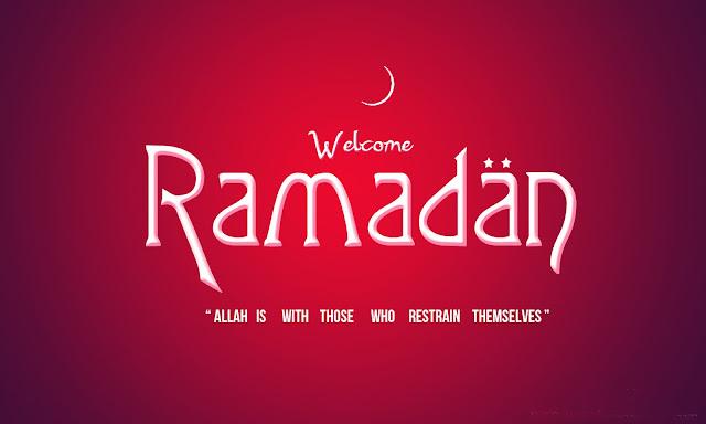 30 Kata Kata Ucapan Selamat Bulan Puasa Ramadhan 1438 H / 2017