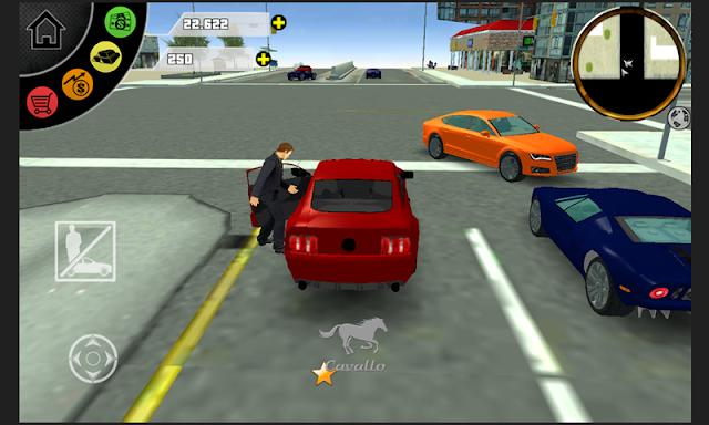 تحميل لعبة San Andreas الجديده المشبها لحرامى السيارات للأندرويد