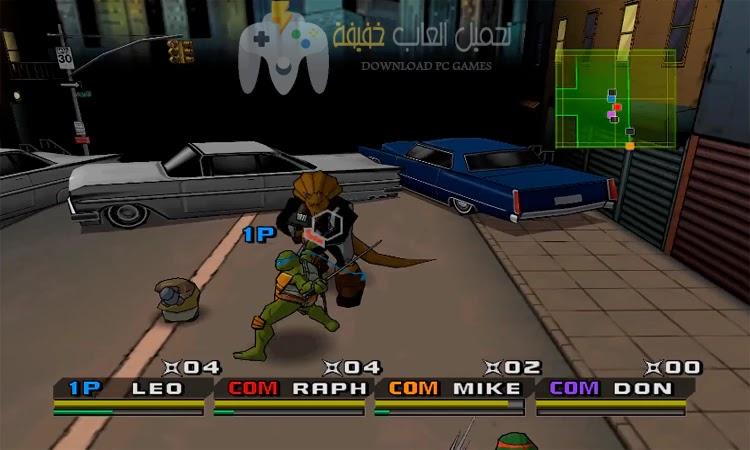 تحميل لعبة سلاحف النينجا 3 للكمبيوتر من ميديا فاير