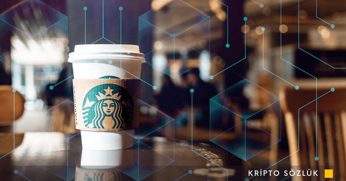 Starbucks'tan Microsoft Destekli Blockchain Hamlesi