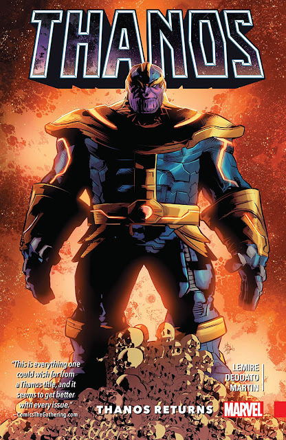 thanos infinity gauntlet marvel 2016
