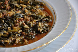 Spinach with Rice (Spinach with Rice (Pirincli Ispanak)