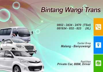 Carter Mobil Malang Banyuwangi