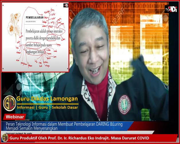 Guru Produktif Oleh Prof. Dr. Ir. Richardus Eko Indrajit. Masa Darurat COVID