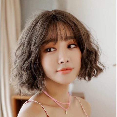 Các kiểu tóc ngắn nứ xoăn đẹp