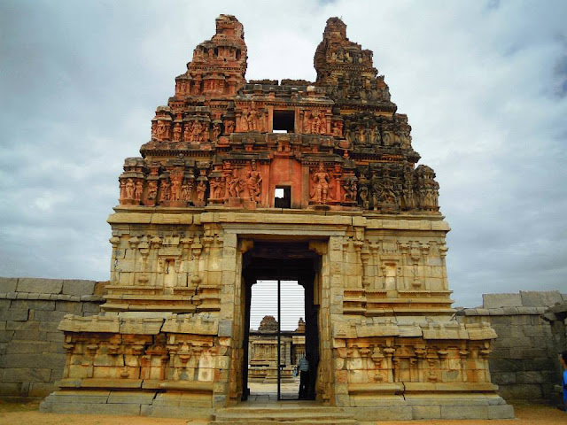 Eastern gateway at the Vittala Temple, Hampi