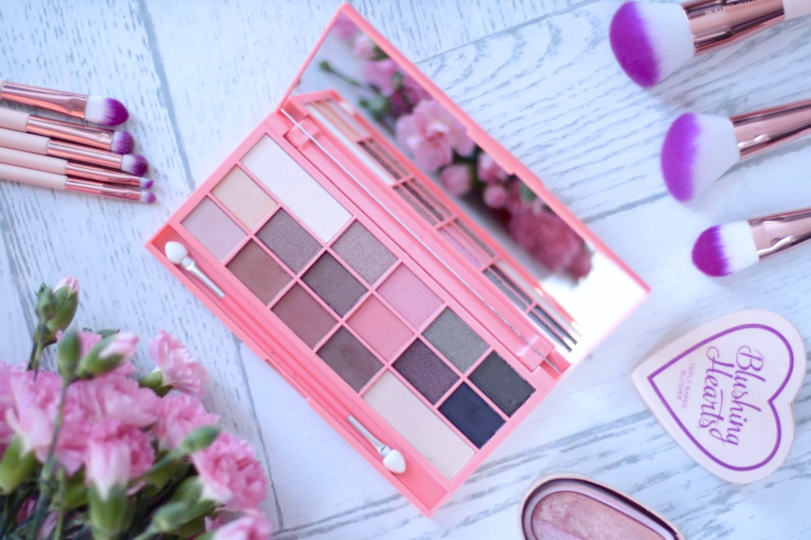I Heart Makeup Chocolate & Peaches - Review & Swatches