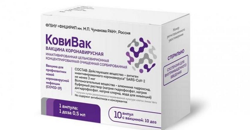 CoviVac: Rusia registra su tercera vacuna contra el coronavirus