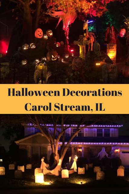 Halloween Decoration Contest Carol Stream, Illinois