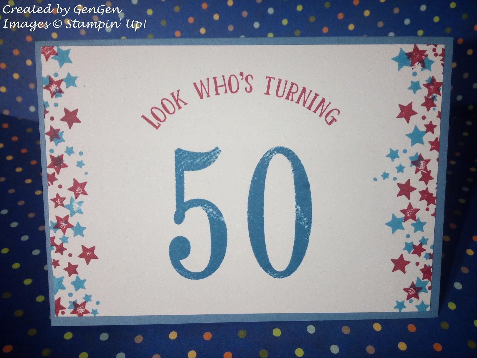 Stamp Addict Happy 50th Birthday Brother