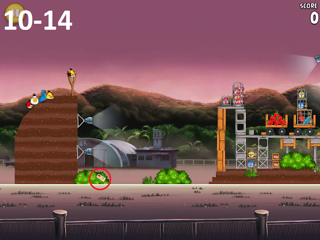 Angry Birds Rio - Airfield Chase 10-14