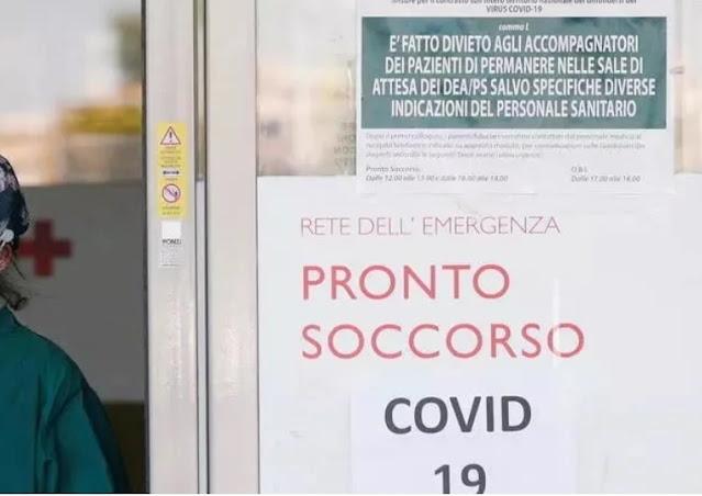 """ايطاليا تصبح اول بلد أوروبي يتجاوز 50 الف وفاة بسبب كورونا ووزير الصحة يقول """"سيكون التراخي خطأ كبيراً""""."""