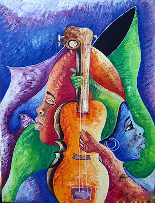 Haitianarts quadro bachatero cantante poeta