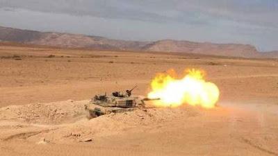 عملية عسكرية مغربية ناجحة انهت شطحات شرذمة البوليساريو