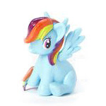 MLP Lip Balm 6-pack Rainbow Dash Figure by Added Extras