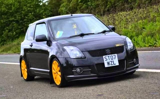 Foto Modifikasi Mobil Suzuki Swift terbaik