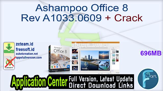 Ashampoo Office 8 Rev A1033.0609 + Crack_ ZcTeam.id