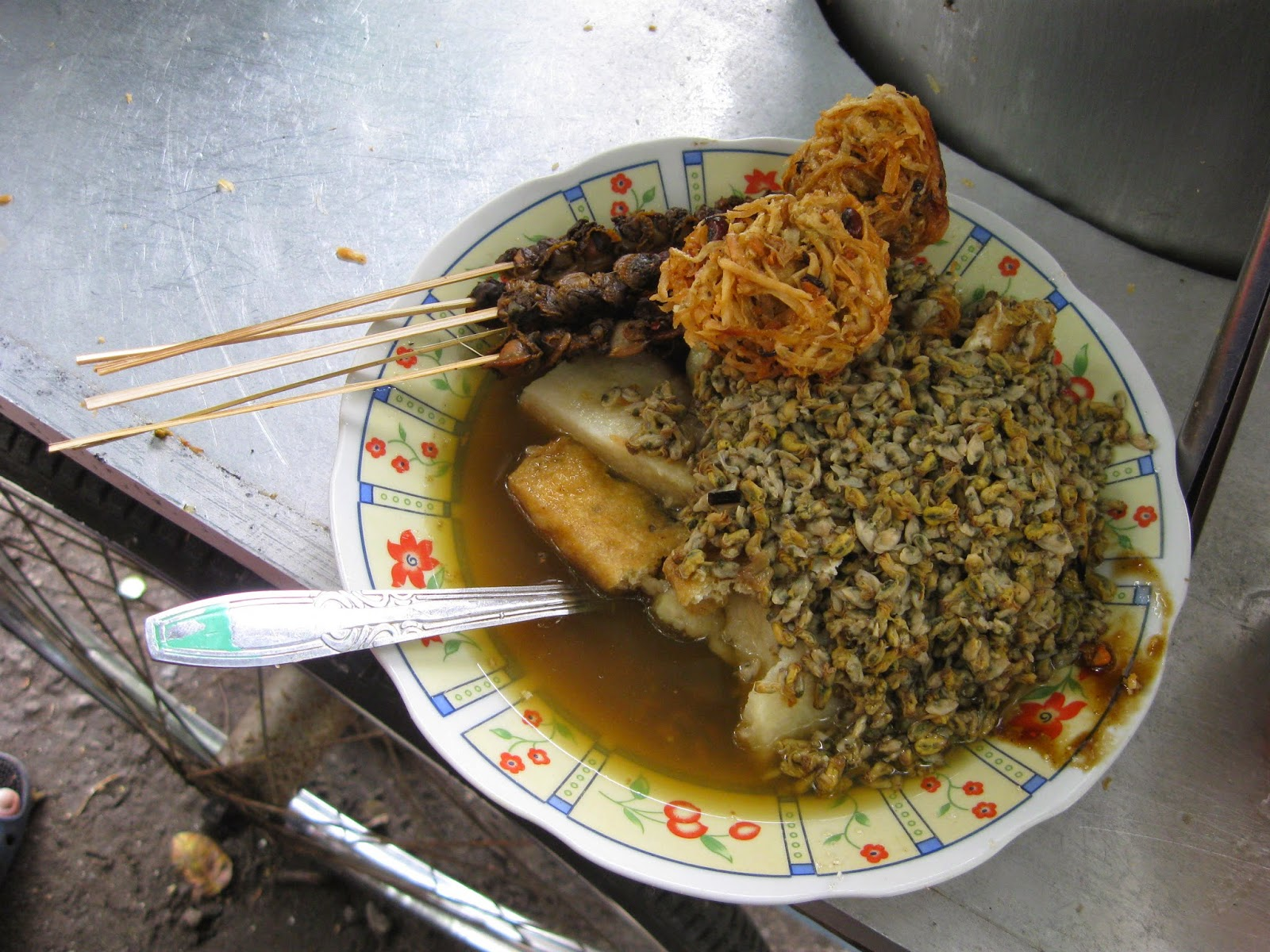 Image result for lontong kupang