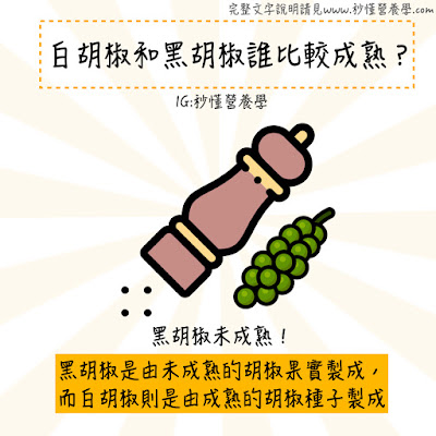 台灣營養師Vivian【秒懂營養學】這些食物冷知識,你知道多少個呢?(多圖)