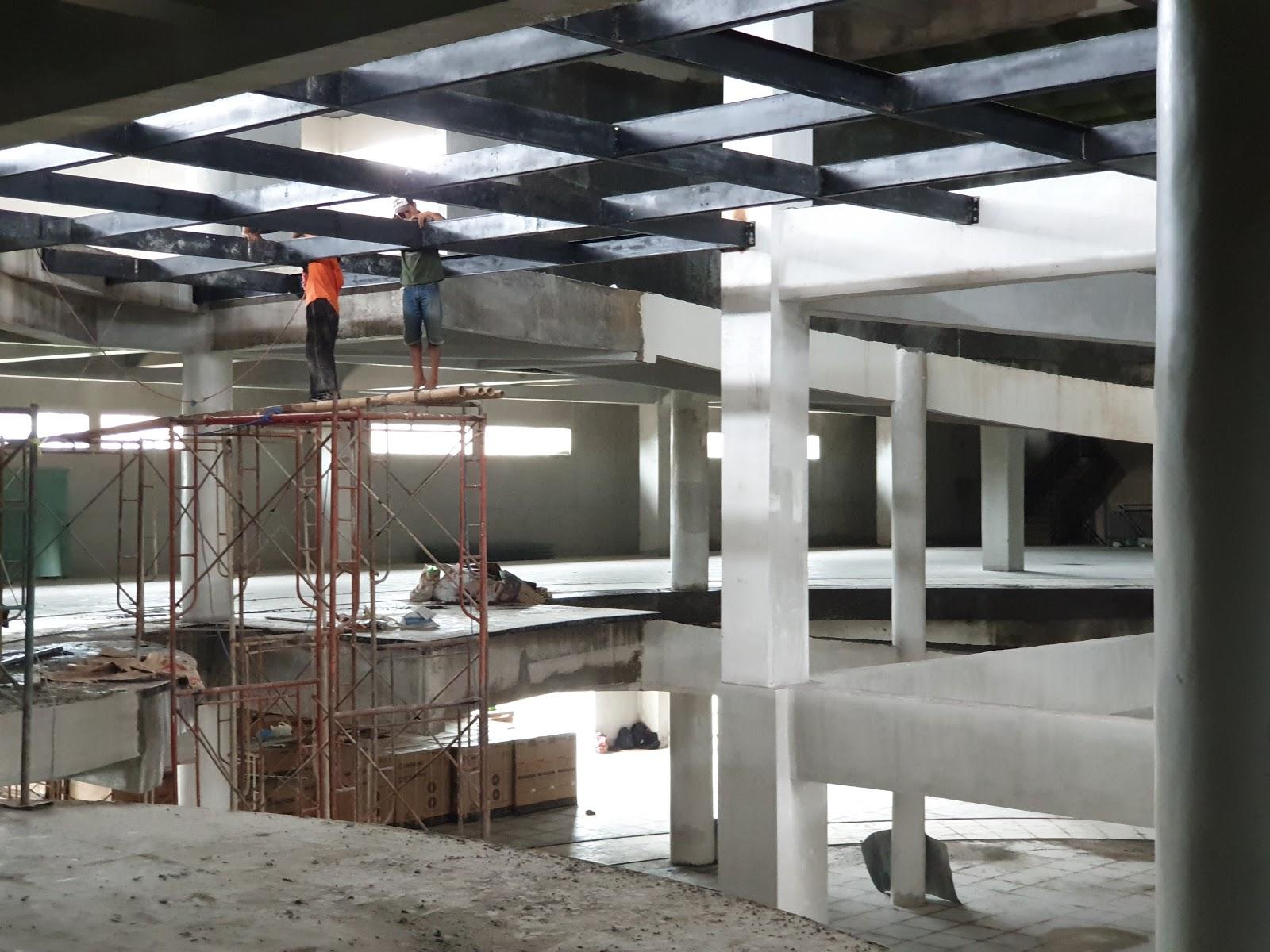 harga atap baja ringan lapis pasir berat bali wf, iwf , h-beam, konstruksi lengkung ...
