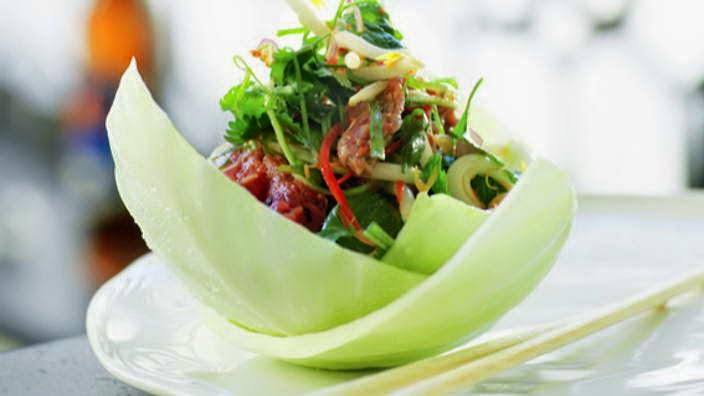 Bí quyết làm món Gỏi thịt bò Thái Lan ngon