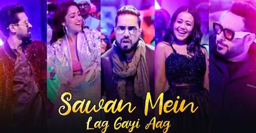 Sawan Mein Lag Gayi Aag Lyrics - Mika | Neha | Badshah