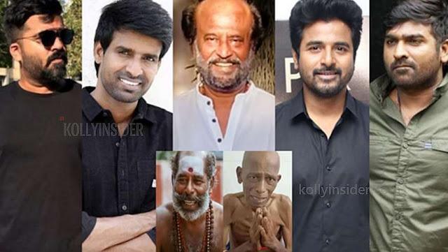 Rajini, Vijay Sethupathi, Sivakarthikeyan, Simbu