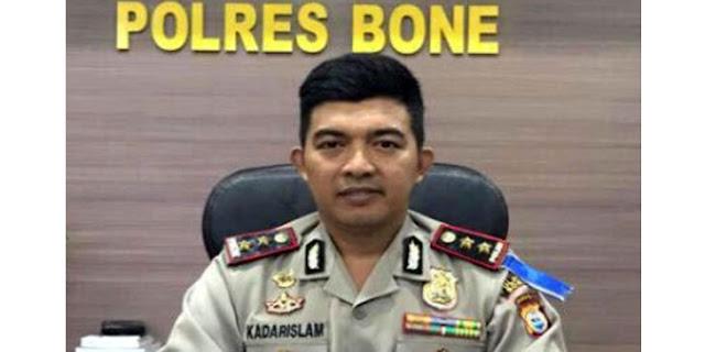 Polres Bone Kejar Penculik Bayi Anggota Brimob