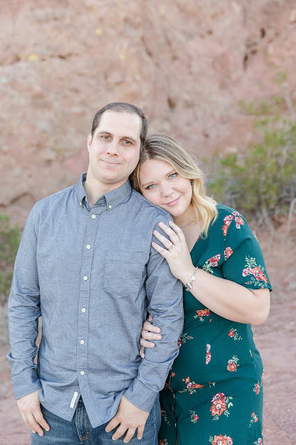 Papage Park Arizona Engagement Photography Session by MIcah Carling Photography