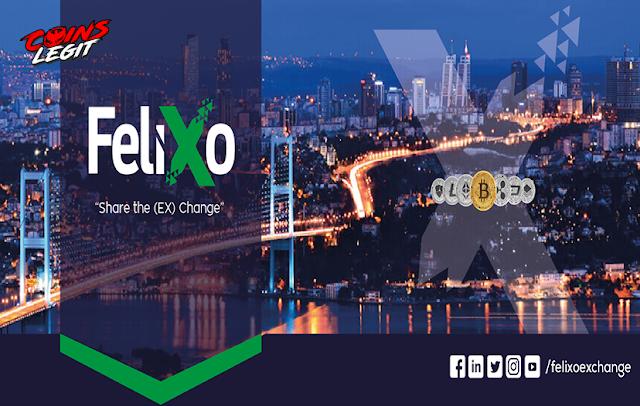 Airdrop Felixo Exchange - Free 5600 FLX Estimate $33.60
