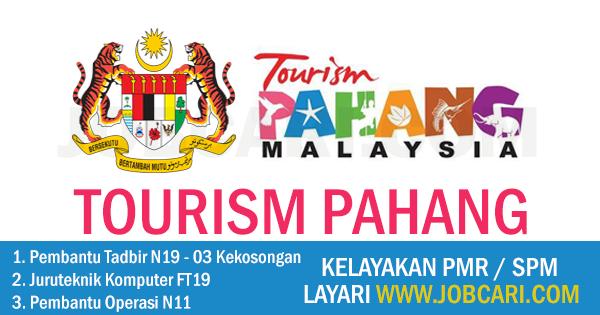 JAWATAN KOSONG TOURISM PAHANG