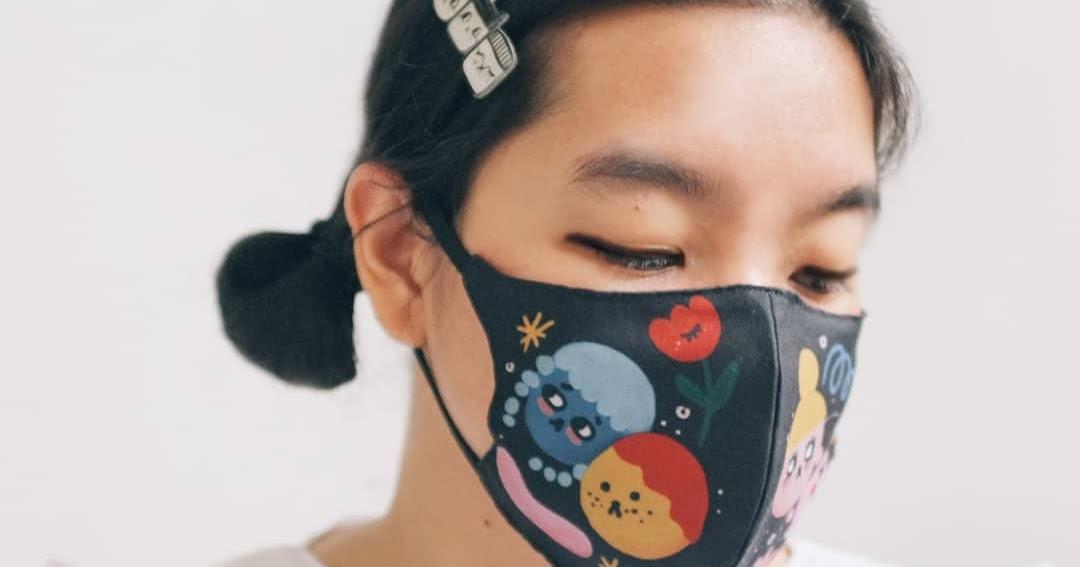 5 Masker Kain Lucu yang Bisa Kamu Beli Online | SheBlinks