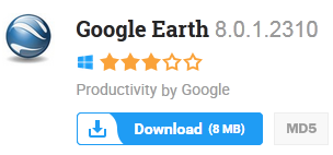 Google Earth 8.0.1.2310 Free Download Latest Version