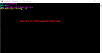 Tool Bypass UBL MIUI 10 Redmi 4a(Rolex)