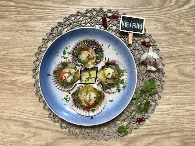 Cómo Hacer VIEIRAS o ZAMBURIÑAS AL HORNO con LIMÓN, AJO Y PEREJIL ¡Deliciosas!