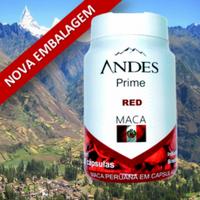 Andes Prime Red Maca Peruana 1 Frasco