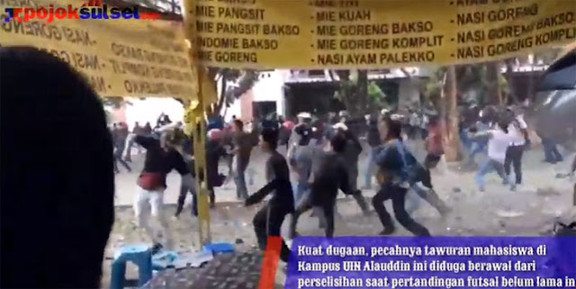 Tegas! Rektor UIN Alauddin Sanksi Pelaku Tawuran Mahasiswa, Termasuk Dosen