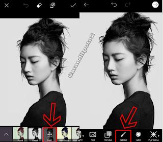 Cara edit foto double exposure